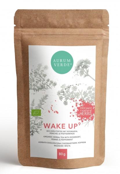 WAKE UP | Bio-Kräutertee mit Rosmarin, Fenchel & Pfefferminze