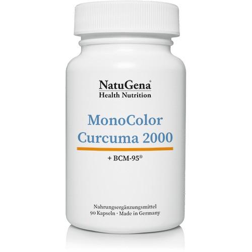 MonoColor Curcuma 2000 | 95% Curcuminoide