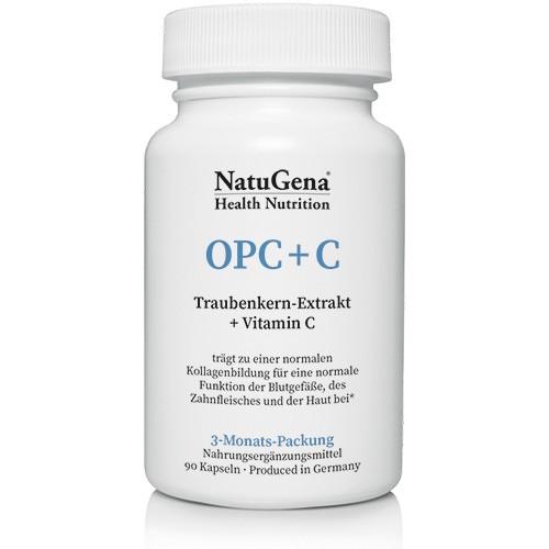 OPC+C | Traubenkernextrakt + Vitamin C