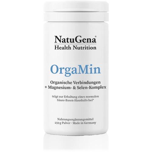 OrgaMin   Mineralstoffe für Säure-Basen Haushalt