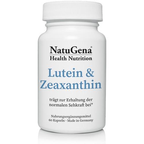Lutein & Zeaxanthin | Erhalt der normalen Sehkraft